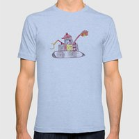 Tractor Mens Fitted Tee Athletic Blue SMALL