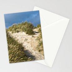 Scandinavian Sand Dune of Henne in Denmark Stationery Cards
