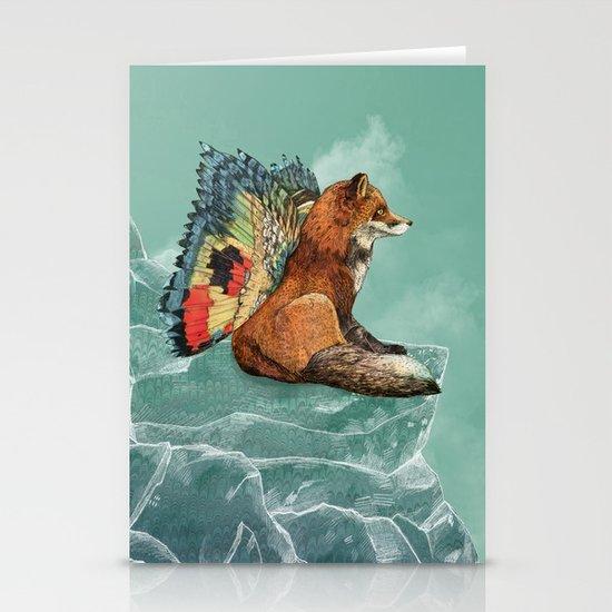 Flying Fox Stationery Card