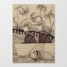 The Golden Fish (2) Canvas Print