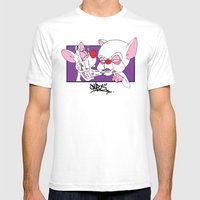 Shotgun Mens Fitted Tee White SMALL