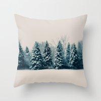 Winter & Woods Throw Pillow