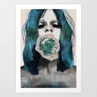 Good girls Art Print
