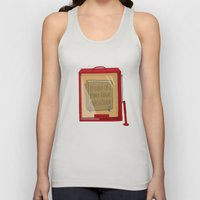 In Case Of A Power Failu… Unisex Tank Top