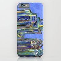 Blue Philadelphia Skyline iPhone 6 Slim Case
