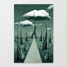 forbidden gateway Canvas Print