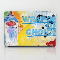 Weapon of Choice iPad Case