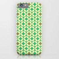Repeated Retro - Green iPhone 6 Slim Case