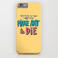 Make Art & Die iPhone 6 Slim Case
