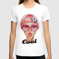 hair T-shirts featuring Cool Redux by Giulio Rossi