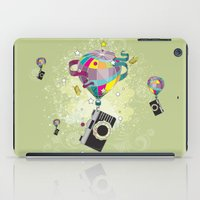 Traveling camera iPad Case