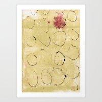 Lines & Texture 3 Art Print