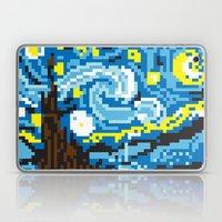 Pixelated Night Laptop & iPad Skin