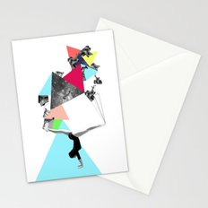 SHE WAS STRANGE Stationery Cards