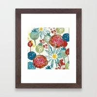 Wildflower Desert Framed Art Print