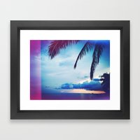 Hawaii is Home Framed Art Print