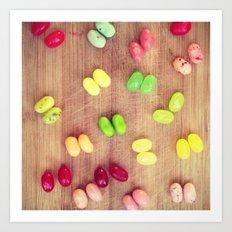 Jelly babes Art Print