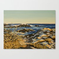 Newport Evening Canvas Print