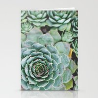 Succulents I Stationery Cards
