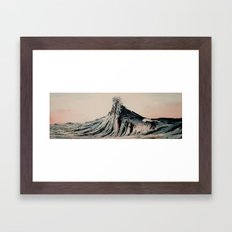 The WAVE #2 Framed Art Print