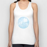 Walking On Cloud Nine  Unisex Tank Top