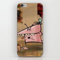 Dennis Dinosaur Hates Af… iPhone & iPod Skin