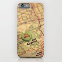 iPhone & iPod Case featuring All Mine Los Angeles by CAPow!