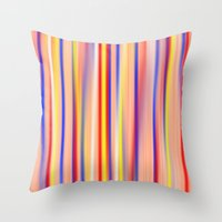 Throw Pillow featuring Sunset by Carol Sabbagh