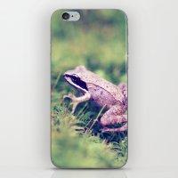 Frog & Moss iPhone & iPod Skin
