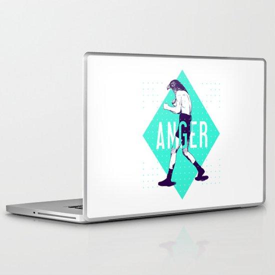 Anger Laptop & iPad Skin