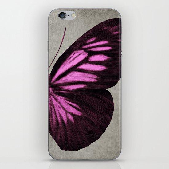 Papillon (Pink) iPhone & iPod Skin