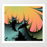 Thorns Of Extinction  Art Print