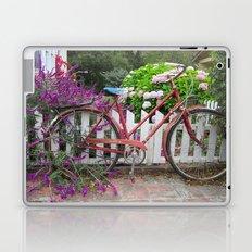 Red Bicycle Laptop & iPad Skin