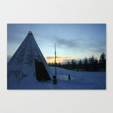 Life In The Arctic Canvas Print