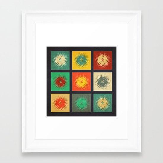 Textures/Abstract 90 Framed Art Print