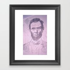 Five Dollar Synopsis For Abraham Framed Art Print