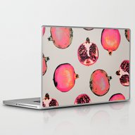 Laptop & iPad Skin featuring Pomegranate Pattern by Georgiana Paraschiv