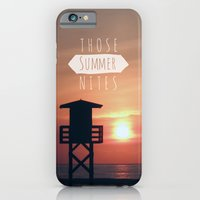 Those Summer Nights (Reprise) iPhone 6 Slim Case