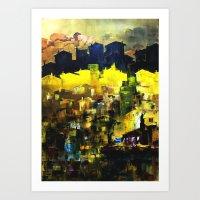 Migration-Exil Art Print