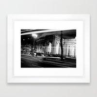 I Wish I May [Black & White] Framed Art Print