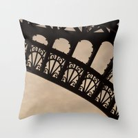 Details, a treat to the eye Throw Pillow