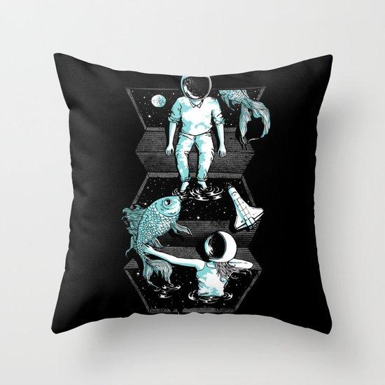 Space Between Throw Pillow