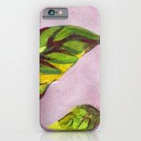 big green leaf iPhone 6 Slim Case