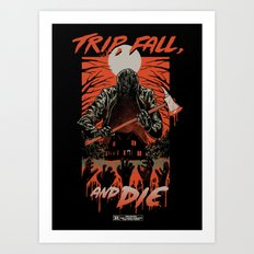 Every Slasher Movie Art Print