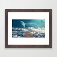 View From The Pier Framed Art Print