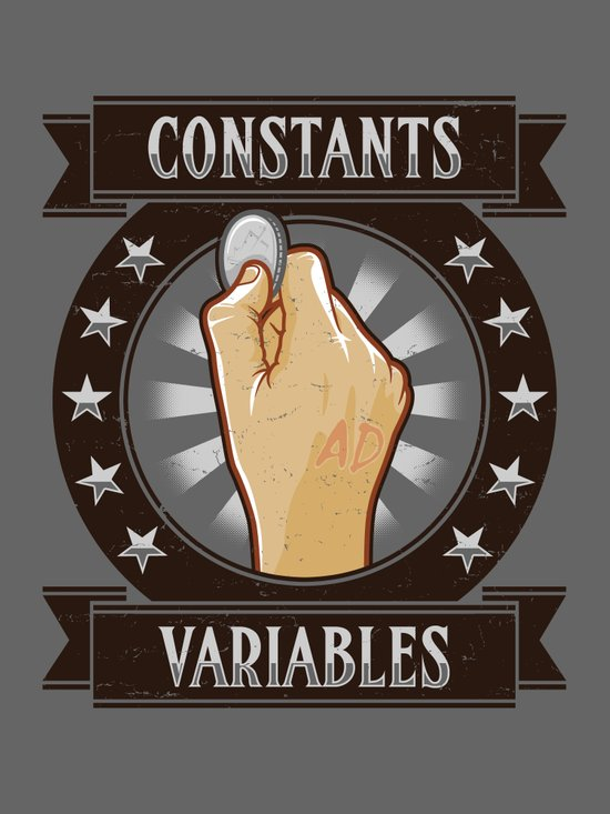 Constants & Variable Art Print