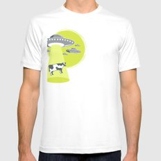 Late Night Snack Mens Fitted Tee SMALL White