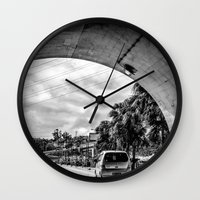 Light at the End Wall Clock