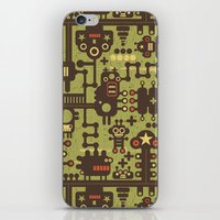 World of robots. iPhone & iPod Skin