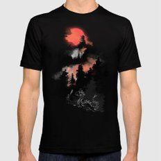 Samurai's life Mens Fitted Tee Black SMALL